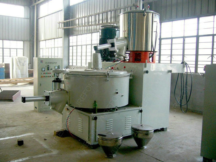 4 MM Stainless Steel Pvc Compounding Mixer With Automatic Transferring Mixing System